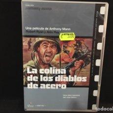 Cine: LA COLINA DE LOS DIABLOS DE ACERO - DVD //. Lote 107214168