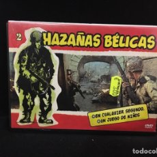 Cine: HAZAÑAS BÉLICAS - DVD VOLUMEN 2 //. Lote 107217636