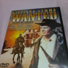 Cinéma: GIULIANO GEMMA WANTED DVD . Lote 107241507