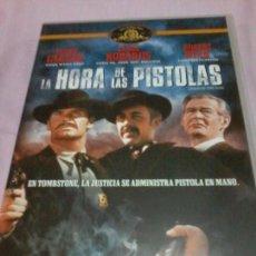 Cine: LA HORA DE LAS PISTOLAS WESTERN DVD JAMES GARNER JASON ROBARDS. Lote 107241607