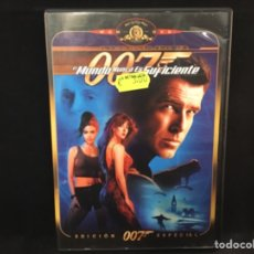 Cine: 007 JAMES BOND / EL MUNDO NUNCA ES SUFICIENTE - DVD. Lote 107267107