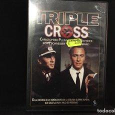 Cine: TRIPLE CROSS - DVD. Lote 107272455