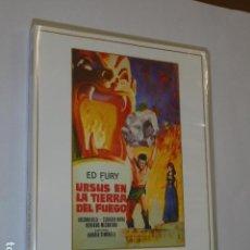 Cine: CINE EPICO URSUS EN LA TIERRA DEL FUEGO CON ED FURY - DVD -. Lote 153839956