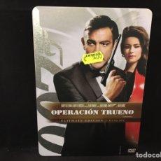 Cinema: JAMES BOND / 007 EN OPERACIÓN TRUENO - 2 DVD CAJA METÁLICA. Lote 107439444