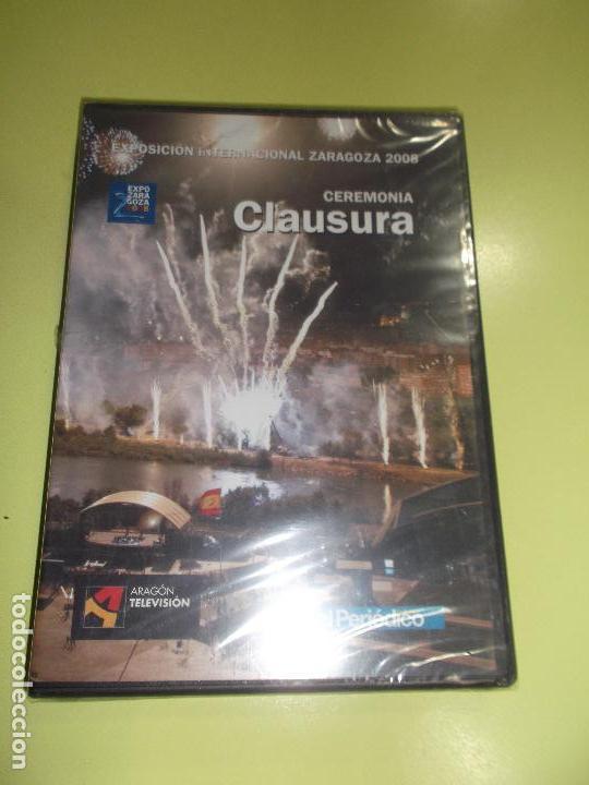 EXPOSICION ZARAGOZA 2008 CLAUSURA PRECINTADA (Cine - Películas - DVD)
