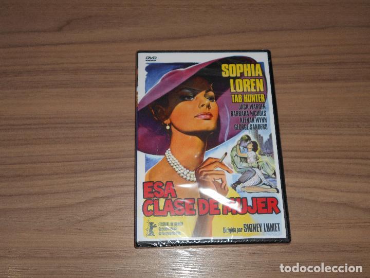 ESA CLASE DE MUJER DVD SOPHIA LOREN TAB HUNTER GEORGE SANDERS NUEVA PRECINTADA (Cine - Películas - DVD)