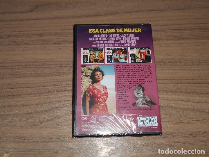 Cine: ESA CLASE de MUJER DVD Sophia Loren TAB HUNTER George Sanders NUEVA PRECINTADA - Foto 2 - 269214763