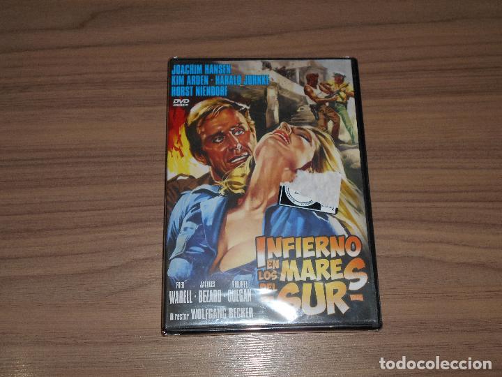INFIERNO EN LOS MARES DEL SUR DVD NUEVA PRECINTADA (Cine - Películas - DVD)