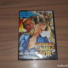 Cine: INFIERNO EN LOS MARES DEL SUR DVD NUEVA PRECINTADA. Lote 151037249