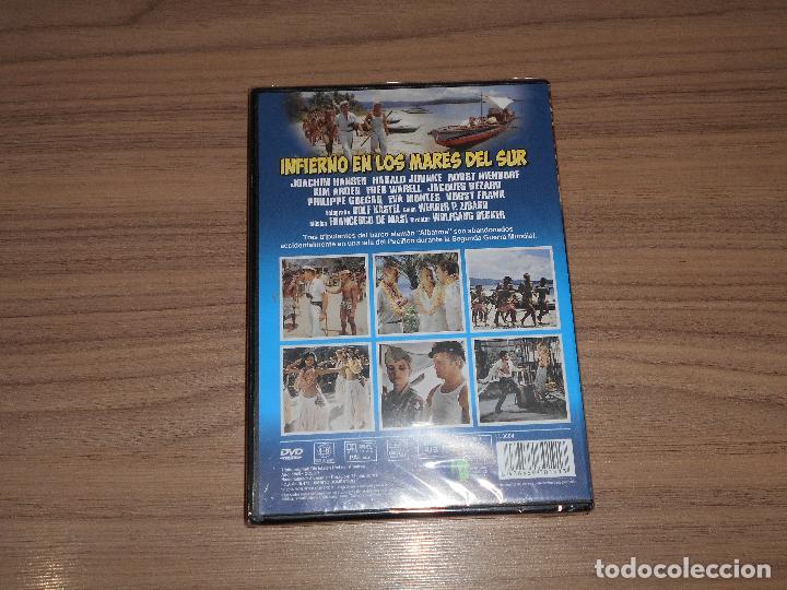 Cine: INFIERNO en Los MARES del SUR DVD Nueva PRECINTADA - Foto 2 - 151037249