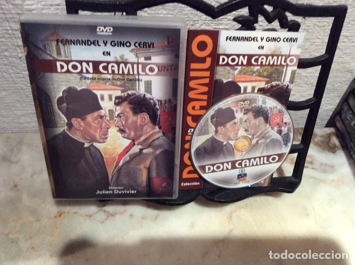 DVD - DON CAMILO MONSEÑOR - FERNANDEL, GINO CERVI (Cine - Películas - DVD)
