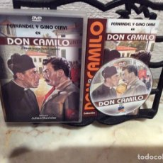 Cine: DVD - DON CAMILO MONSEÑOR - FERNANDEL, GINO CERVI. Lote 107505315