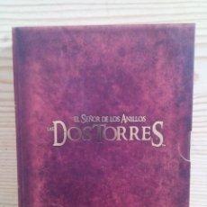 Cine: EL SEÑOR DE LOS ANILLOS - LAS DOS TORRES - VERSION EXTENDIDA - 4 DVD. Lote 107618791