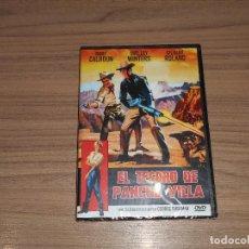 Cine: EL TESORO DE PANCHO VILLA DVD RORY CALHOUN SHELLEY WINTERS NUEVA PRECINTADA. Lote 218919587