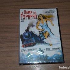 Cine: LA DAMA DEL EXPRESO DVD ANGELA LANSBURY NUEVA PRECINTADA. Lote 218919131