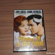 Cine: PERDIDOS EN LA GRAN CIUDAD DVD TONY CURTIS DEBBIE REYNOLDS NUEVA PRECINTADA. Lote 156094717