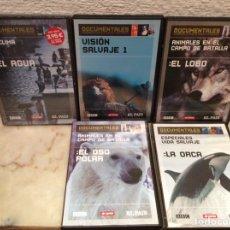 Cine: DVDS - DOCUMENTALES SUPERPRODUCCIONES DE CIENCIA Y NATURALEZA LOTE 5 DVDS. Lote 107701951