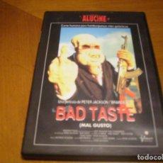 Cine: BAD TASTE : DVD COMO NUEVA. Lote 107736915