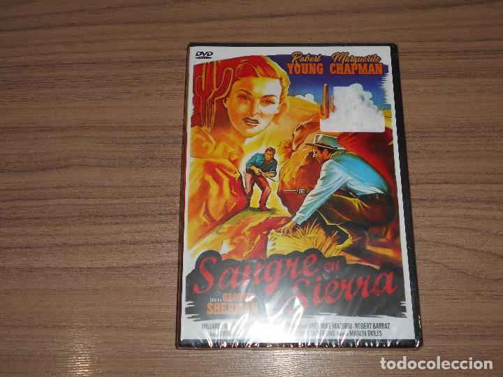 SANGRE EN LA SIERRA DVD ROBERT YOUNG NUEVA PRECINTADA (Cine - Películas - DVD)