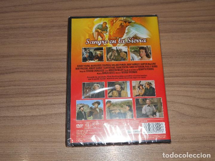 Cine: SANGRE en La SIERRA DVD Robert Young NUEVA PRECINTADA - Foto 2 - 253416380