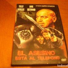 Cine: EL ASESINO ESTA AL TELEFONO : DVD COMO NUEVA. Lote 107739011