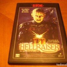 Cine: HELLRAISER : DVD COMO NUEVA. Lote 107739207