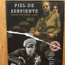 Cine: PIEL DE SERPIENTE Y SALVAJE 2 PELICULAS DVD, MARLON BRANDO. Lote 107772791