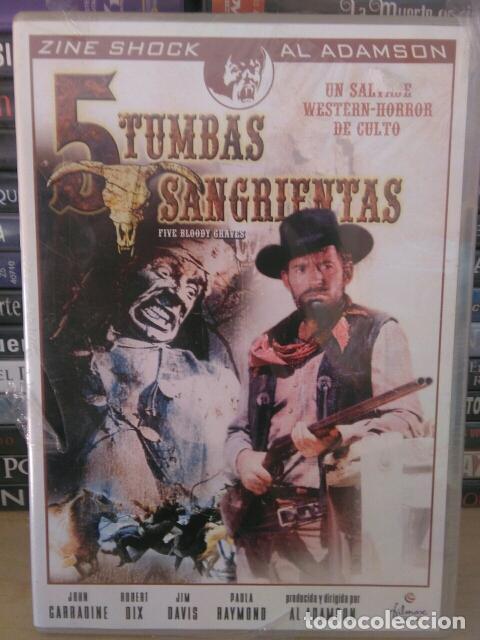 5 TUMBAS SANGRIENTAS (PRECINTADO) (Cine - Películas - DVD)