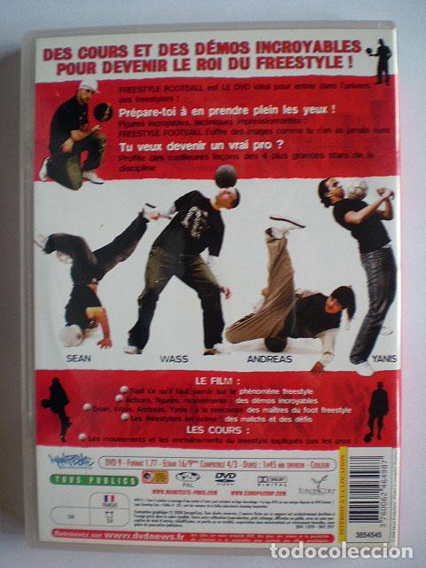 Cine: Lote 4 DVD football fútbol freestyle komball: Abbas Farid, Billy Wingrove, Paul Woody Wood, etc - Foto 3 - 107785879