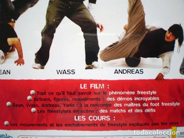 Cine: Lote 4 DVD football fútbol freestyle komball: Abbas Farid, Billy Wingrove, Paul Woody Wood, etc - Foto 5 - 107785879