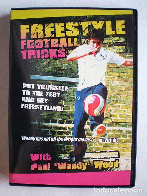 Cine: Lote 4 DVD football fútbol freestyle komball: Abbas Farid, Billy Wingrove, Paul Woody Wood, etc - Foto 8 - 107785879