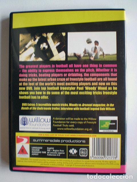Cine: Lote 4 DVD football fútbol freestyle komball: Abbas Farid, Billy Wingrove, Paul Woody Wood, etc - Foto 9 - 107785879