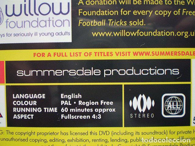 Cine: Lote 4 DVD football fútbol freestyle komball: Abbas Farid, Billy Wingrove, Paul Woody Wood, etc - Foto 11 - 107785879