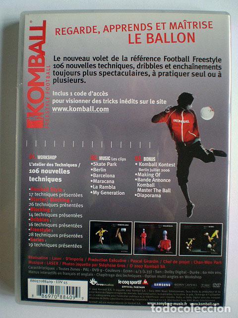 Cine: Lote 4 DVD football fútbol freestyle komball: Abbas Farid, Billy Wingrove, Paul Woody Wood, etc - Foto 14 - 107785879