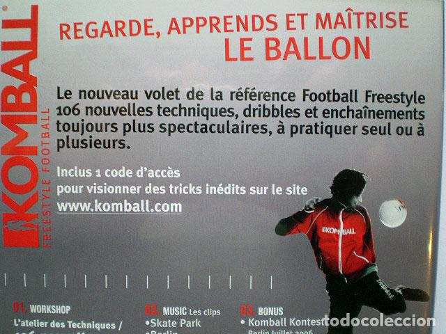 Cine: Lote 4 DVD football fútbol freestyle komball: Abbas Farid, Billy Wingrove, Paul Woody Wood, etc - Foto 15 - 107785879