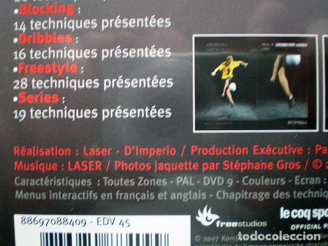 Cine: Lote 4 DVD football fútbol freestyle komball: Abbas Farid, Billy Wingrove, Paul Woody Wood, etc - Foto 17 - 107785879