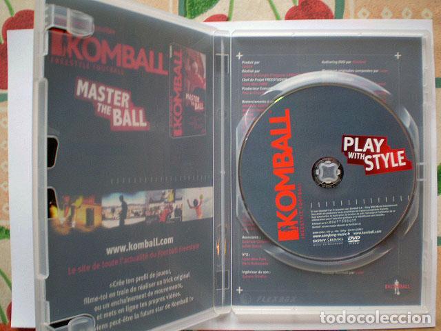 Cine: Lote 4 DVD football fútbol freestyle komball: Abbas Farid, Billy Wingrove, Paul Woody Wood, etc - Foto 19 - 107785879