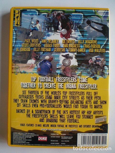 Cine: Lote 4 DVD football fútbol freestyle komball: Abbas Farid, Billy Wingrove, Paul Woody Wood, etc - Foto 21 - 107785879