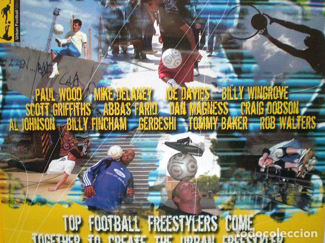 Cine: Lote 4 DVD football fútbol freestyle komball: Abbas Farid, Billy Wingrove, Paul Woody Wood, etc - Foto 22 - 107785879