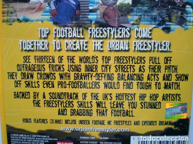 Cine: Lote 4 DVD football fútbol freestyle komball: Abbas Farid, Billy Wingrove, Paul Woody Wood, etc - Foto 23 - 107785879