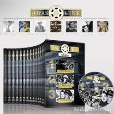 Cine: COLECCIÓN JOYAS DEL CINE COMPLETA Y NUEVA 46 DVD 138 PELÍCULAS. Lote 107834228