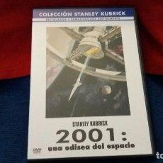 Cine: DVD 2001: UNA ODISEA DEL ESPACIO STANLEY KUBRICK. Lote 107899767