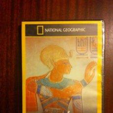 Cine: DVD DOCUMENTAL NATIONAL GEOGRAPHIC - RAMSES III LA CONSPIRACION DEL HAREN. Lote 108114251
