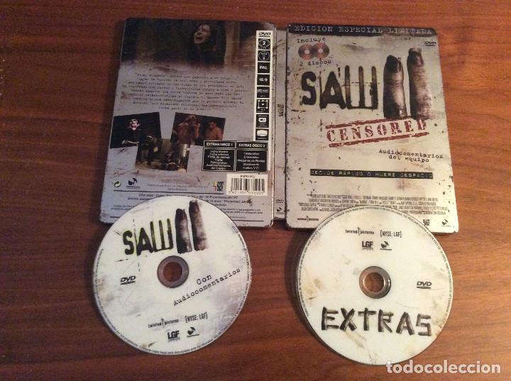 SAW II EDICIÓN ESPECIAL LIMITADA 2 DVD CAJA METÁLICA - MUY BUEN ESTADO! (Cine - Películas - DVD)
