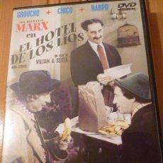 Cine: CINE DVD: EL HOTEL DE LOS LIOS - LOS HERMANOS MARX *BUEN ESTADO*. Lote 108315703