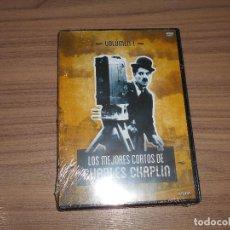 Cine: LOS MEJORES CORTOS DE CHARLES CHAPLIN VOL.1 DVD NUEVA PRECINTADA. Lote 245426325