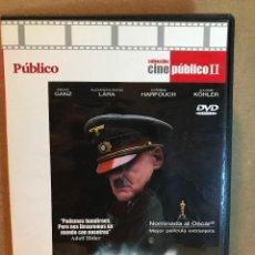 Cine: EL HUNDIMIENTO - CON BRUNO GANZ - NOMINADA A LOS OSCAR.. Lote 108616291