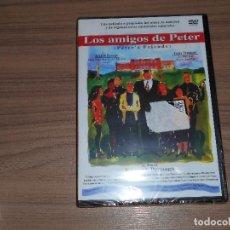 Cinema: LOS AMIGOS DE PETER DVD KENNETH BRANAGH EMMA THOMPSON NUEVA PRECINTADA. Lote 192326243
