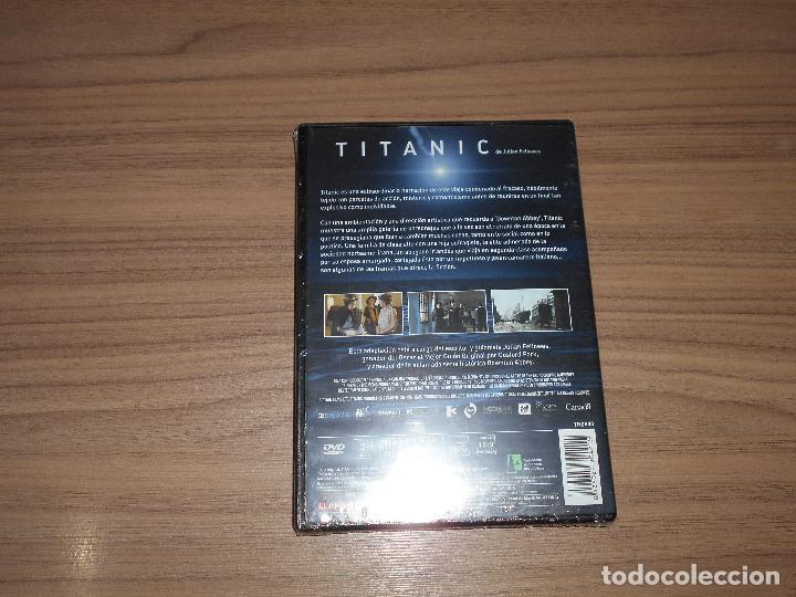 Cine: TITANIC DVD 167 Min. de JULIAN FELLOWES Nueva PRECINTADA - Foto 2 - 262547810