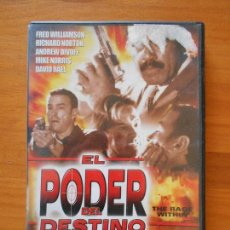 Cine: DVD EL PODER DEL DESTINO - FRED WILLIAMSON - RICHARD NORTON - ANDREW DIVOFF (4G). Lote 108821675
